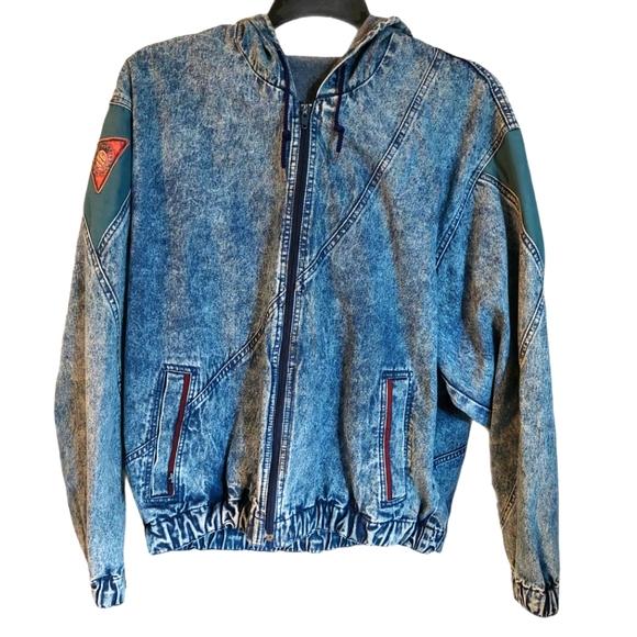 Levi's Sport 90s Vintage Acid Wash Denim Jacket